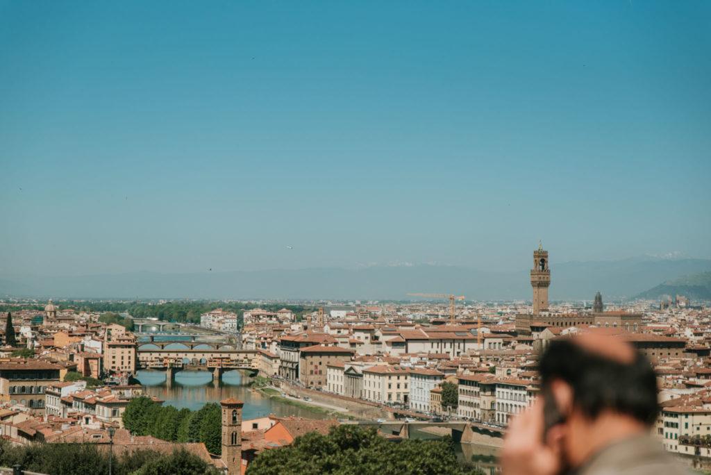 Vestuvių fotosesija Florencijoje