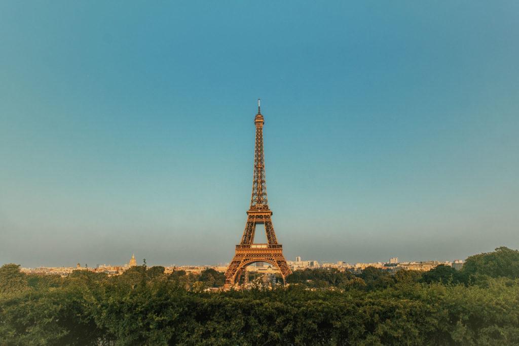 Vestuvių fotosesija Paryžiuje